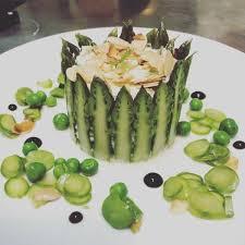 cuisine asperges vertes recette de d asperges vertes ricotta et amandes vierge