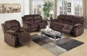 broy chocolate suede recliner sofa