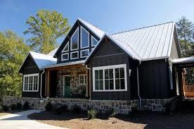 Hillside Walkout Basement House Plans Open Living Floor Plan Lake House Design With Walkout Basement