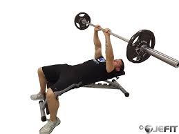 Bench Press For Biceps - barbell close grip bench press exercise database jefit best
