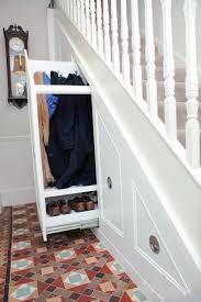 go creative ideas for under stairs storage