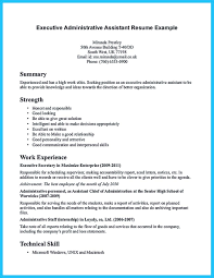 Samples Of Resumes For Administrative Assistant Positions by Sample To Make Administrative Assistant Resume