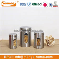 stainless steel tea coffee sugar canisters stainless steel tea