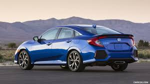 2017 honda civic sedan 2017 honda civic si sedan rear three quarter hd wallpaper 32