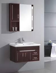 Bathroom Wall Hung Vanities Bathroom Ideas Half Mirrored Modern Bathroom Wall Cabinet Above