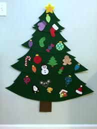 ornaments for a felt tree felt