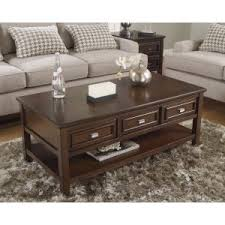 Living Room Table With Drawers Coffee Tables With Drawers Hayneedle