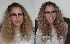 White Women Hair Extensions by Ab Hair Review Curly Hair Extensions And How I Style Them