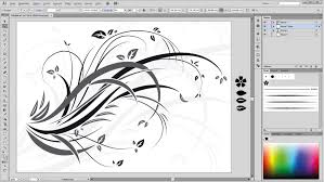 illustrator tutorial drawing floral swirls and ornaments