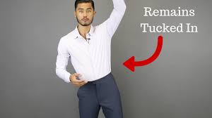 the secret to keeping your shirt tucked in all day youtube