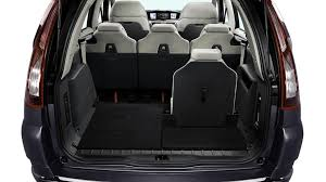 citroen c4 picasso trunk 2011 citroen c4 picasso u0026 grand picasso facelifts revealed