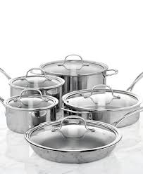 black friday pan set calphalon tri ply stainless steel 10 pc cookware set cookware