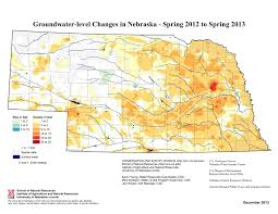 Nebraska On A Map Report Reveals Sharp Drop In Statewide Groundwater Levels