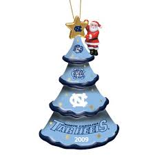 2009 annual carolina tar heels ornament the danbury mint