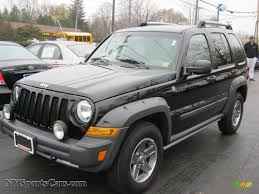 jeep liberty renegade 2005 2005 jeep liberty renegade 4x4 in black clearcoat 706521