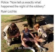 Rob Ryan Memes - pettiest ryan lochte memes murdered bossip