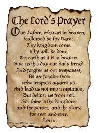 lord u0027s prayer restored ministries blog