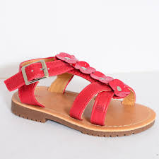 chatter box toddler girls gia red sandals chatter box from shoe