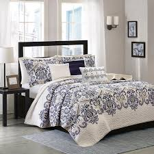 King Size Quilt Coverlet Laura Ashley Rowland Reversible Quilt Set Hayneedle