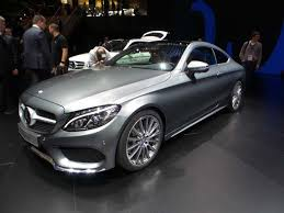 the all mercedes c class 2017 mercedes c class coupe to debut at frankfurt kelley