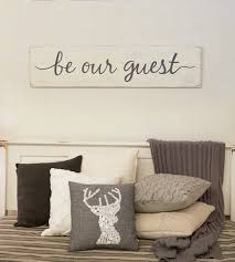 Bedroom Rustic - be our guest sign guest room sign bedroom rustic wood