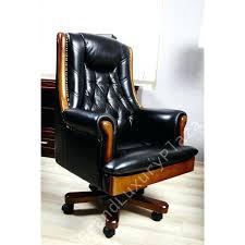 fauteuil bureau cuir bois chaise de bureau cuir chaise bureau cuir fauteuil de bureau cuir