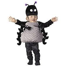 Amazon Halloween Costumes Amazon Infant Toddler Black Spider Halloween Costume Size