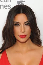 a red lipstick makes for a flawless makeup statement kim
