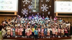 om thailand thanksgiving skit in im aim kindergarten