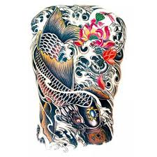 koi carp tattoo images temporary tattoo koi carp silver koi carp artwear tattoo