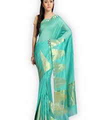Buy Green Plain Cotton Silk Pavecha U0027s Online Boutique Official