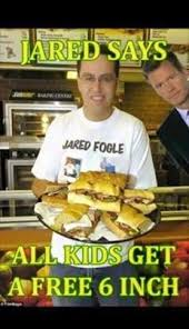 Jared Meme - subway jared fogle child porn investigation know your meme