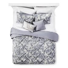 Grey Comforter Target Gray Natalie Cotton Multiple Piece Comforter Set 5pc Target