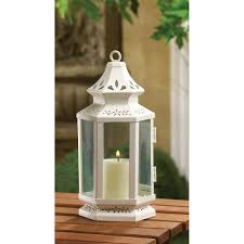 white small victorian candleholder candle lantern best decor com
