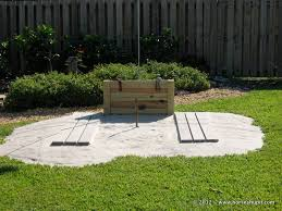 How To Build A Horseshoe Pit In Your Backyard Blog Horseshupit Com