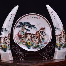 jingdezhen ceramics qingxi fishing landscape painting creative