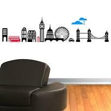 vinyl sticker wall art details about london skyline vinyl wall art sticker decal mural