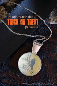Glow In The Dark Halloween Fabric by Last Minute Spooky Diy Halloween Jewelry