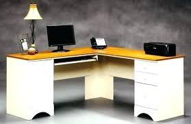 sauder edge water computer desk edge water computer desk photos furniture sauder and hutch set in