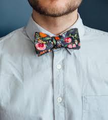 floral bowtie wine floral bow tie men s accessories neck tie