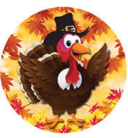 2 thanksgiving stickers