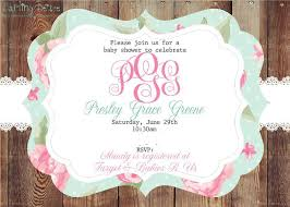 southern shabby chic baby shower