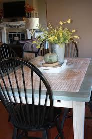 remodelaholic kitchen table redo with sheet music