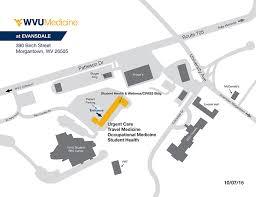 wvu evansdale map health ruby memorial hospital