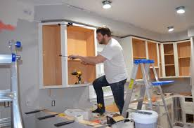 installing kitchen cabinets yourself cabinet installing cabinets kitchen how to install kitchen