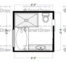 design bathroom floor plan bathroom layout idea 8x8