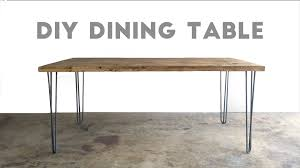 Build A Dining Room Table How To Build A Dining Table Modern Builds Ep 33 Youtube