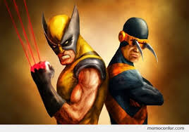 Wolverine Picture Meme - cyclops and wolverine reverse abilities by ben meme center
