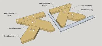 Bench Supports Picnic Table Buildsomething Com