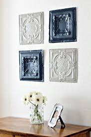 How To Put Up Tin Ceiling Tiles by Tin Ceiling Tiles Wall Art Tin Ceilings And Ceiling Tiles